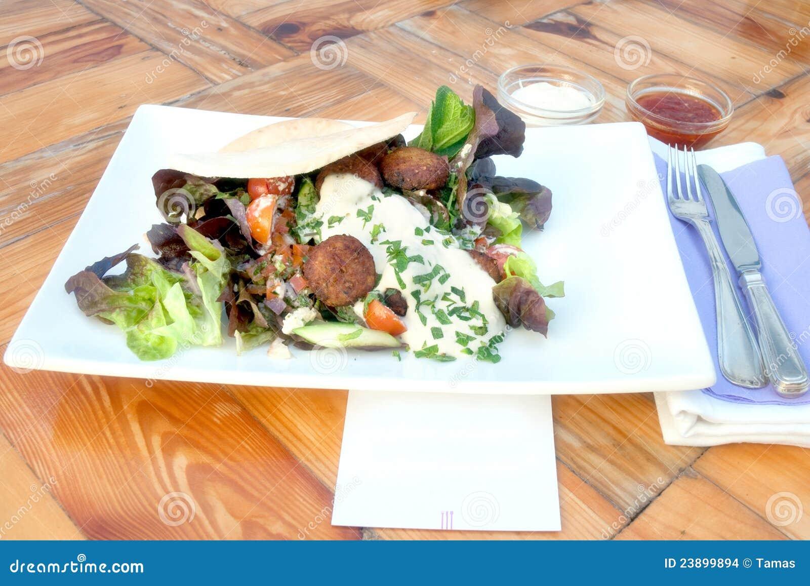 Falafel opakunek