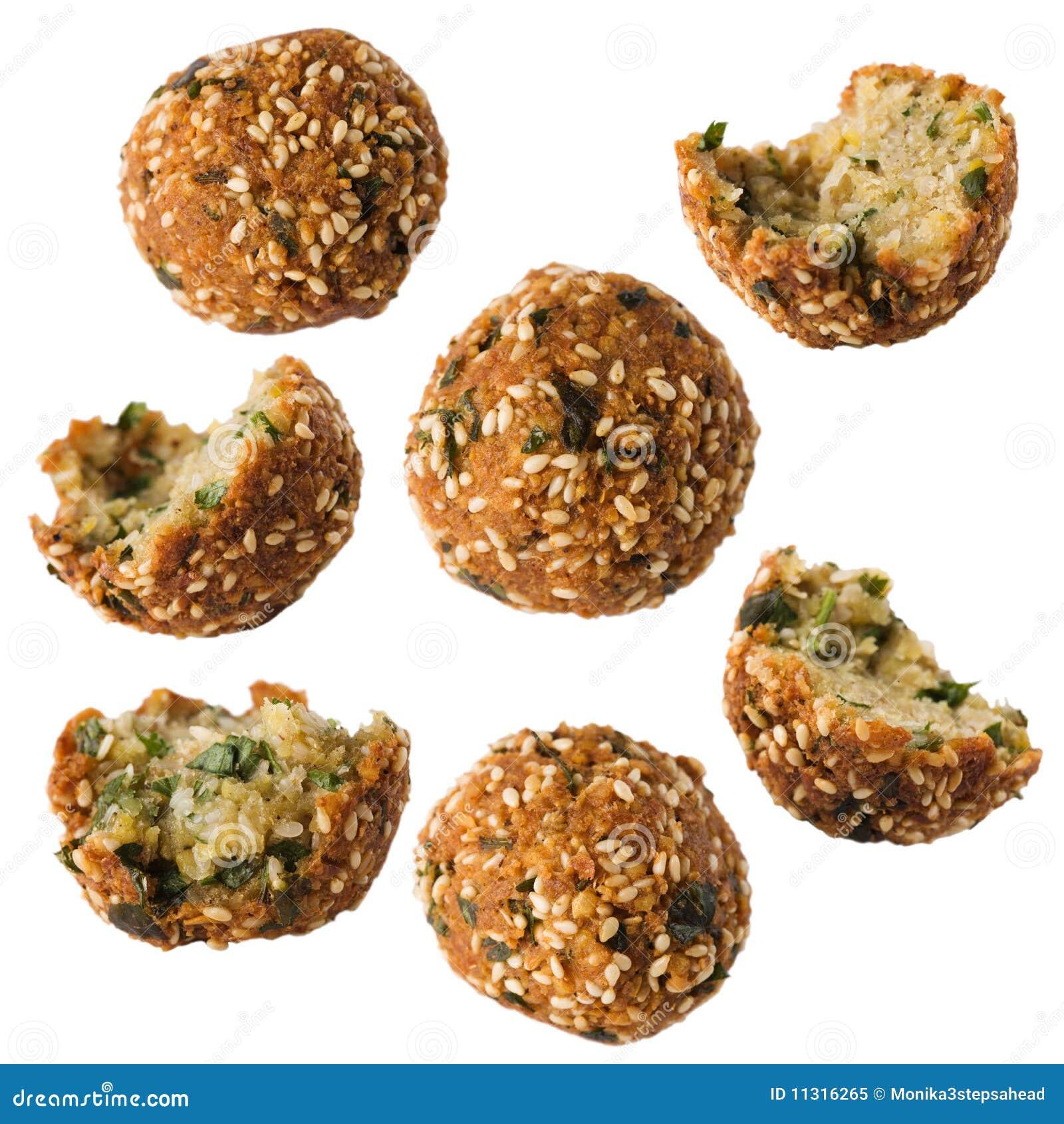 Falafel. Vegetarische Nahrung.