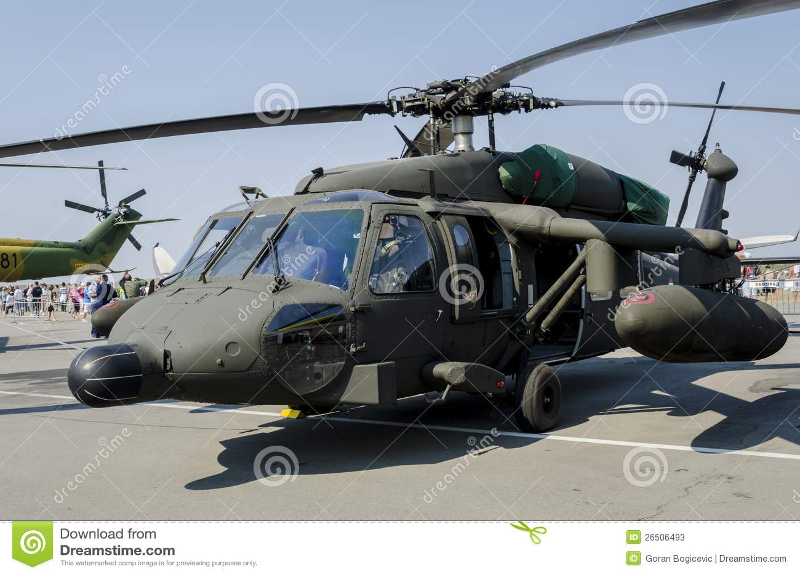Falcão preto de Sikorsky S-70a