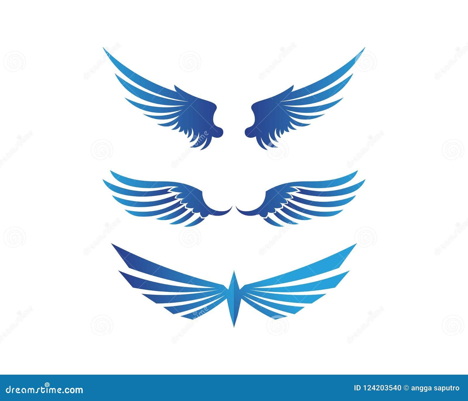 Bird Template   Falcon Eagle Bird Logo Template Vector Icon Stock Illustration