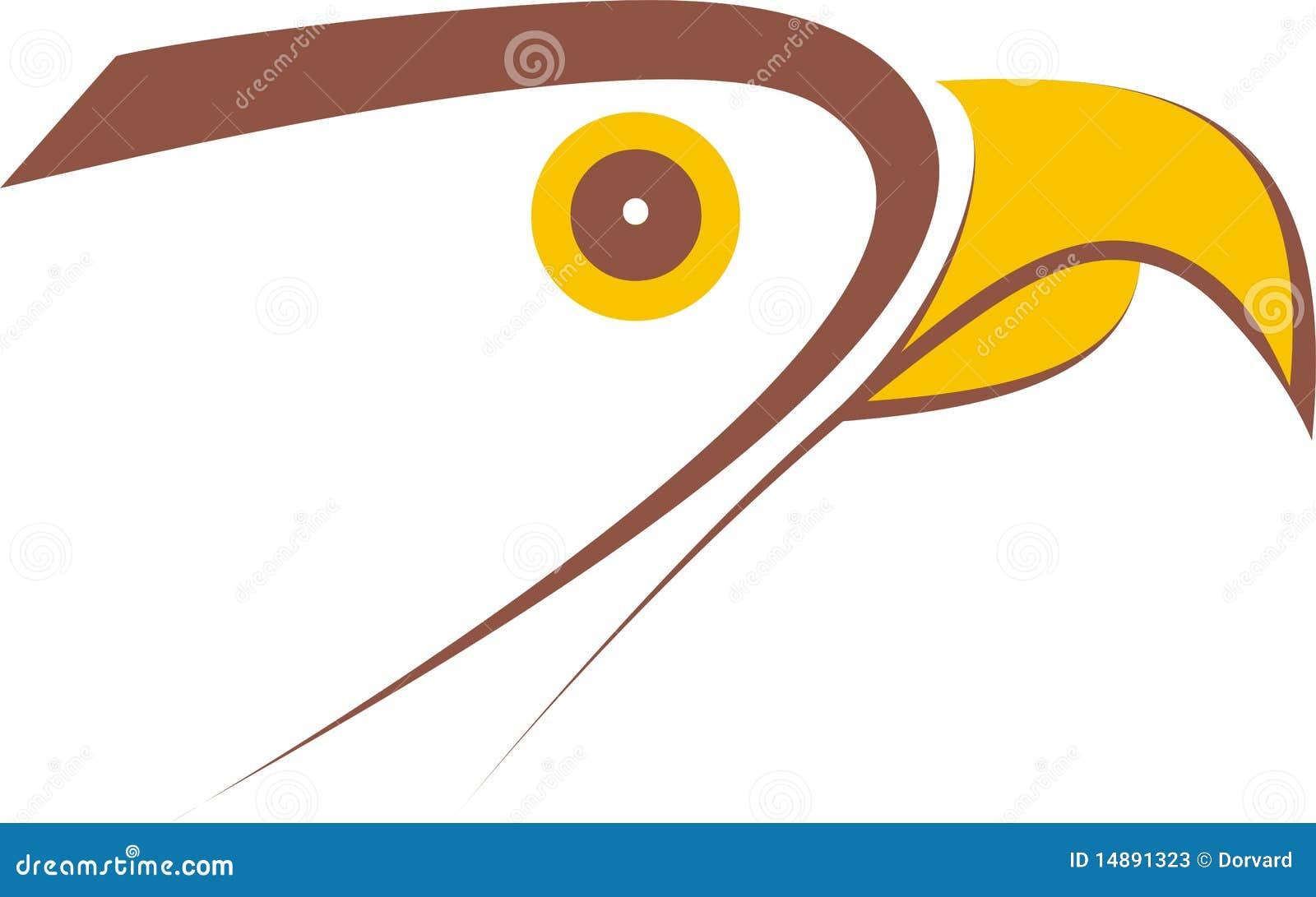 falcon logo design stock photos image 14891323