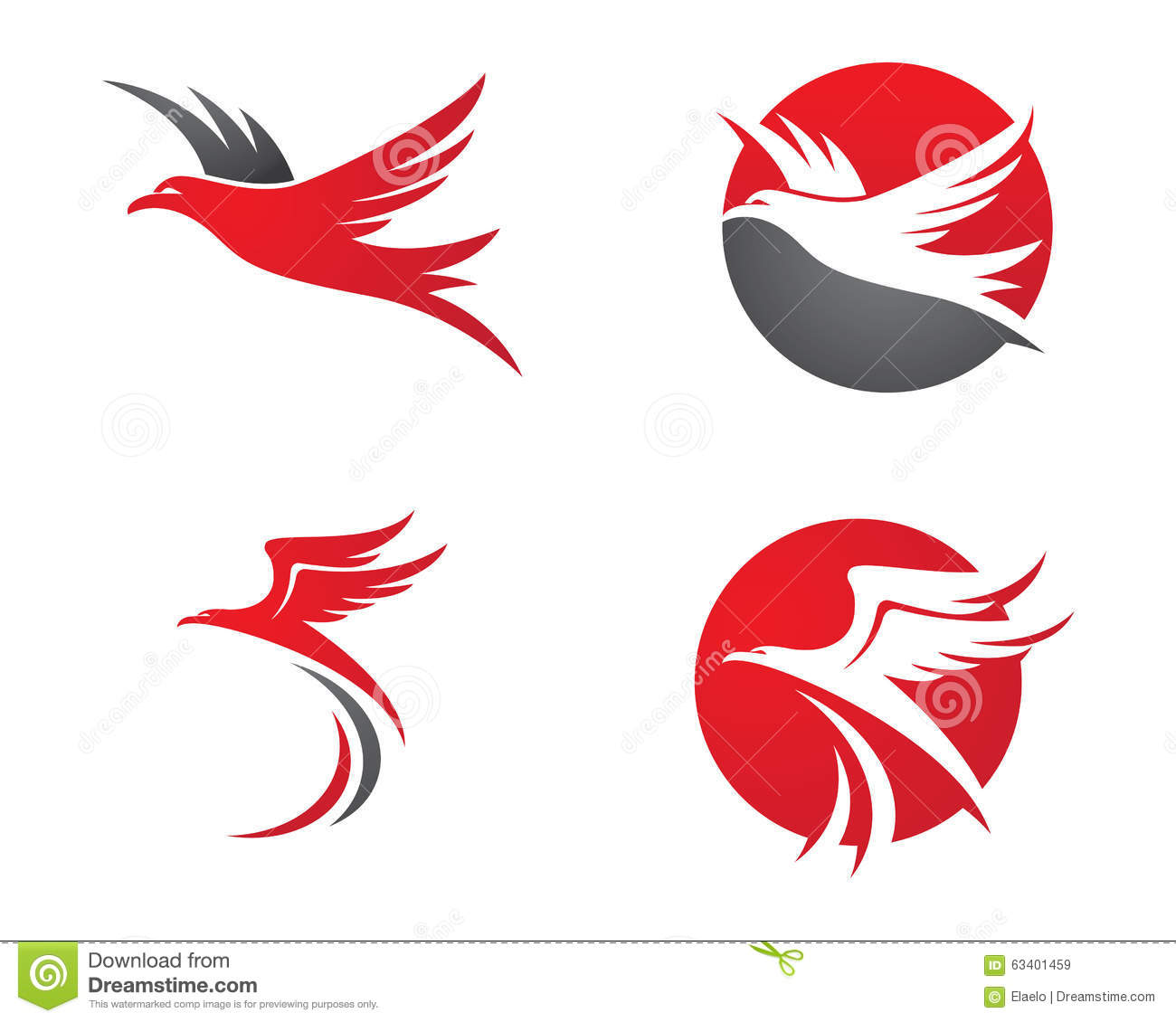 falcon logo template stock vector  illustration of