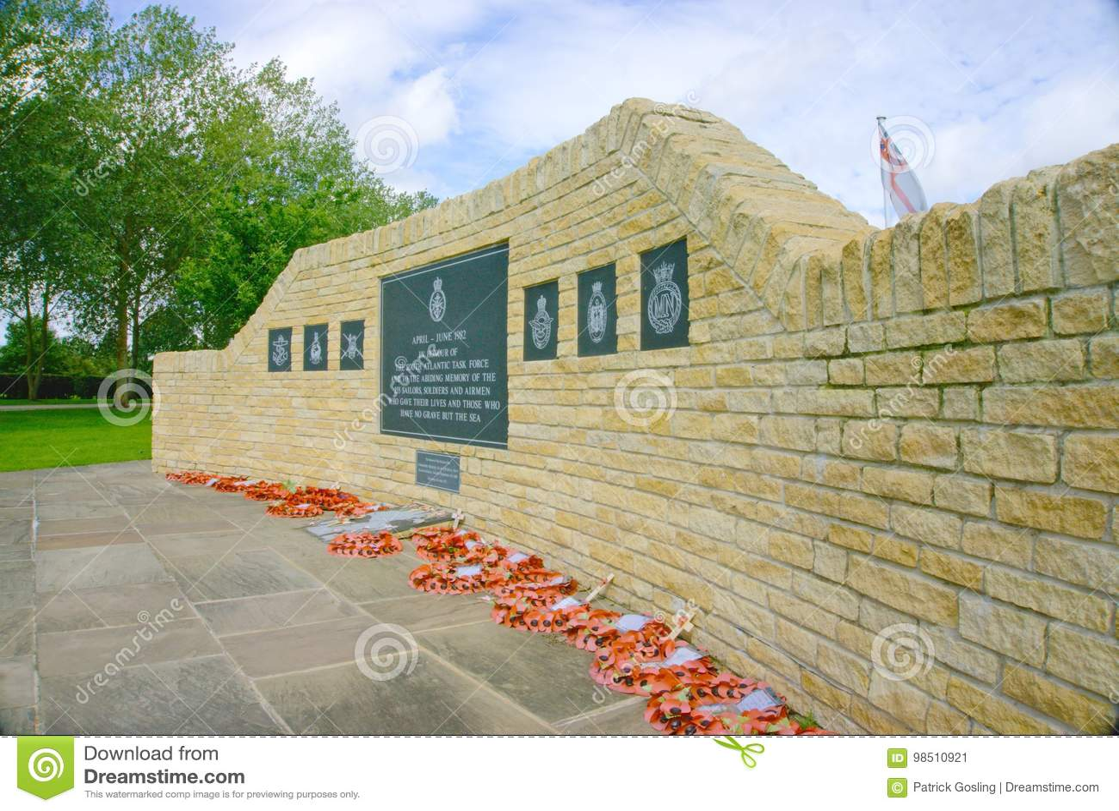 Falkland war memorial.