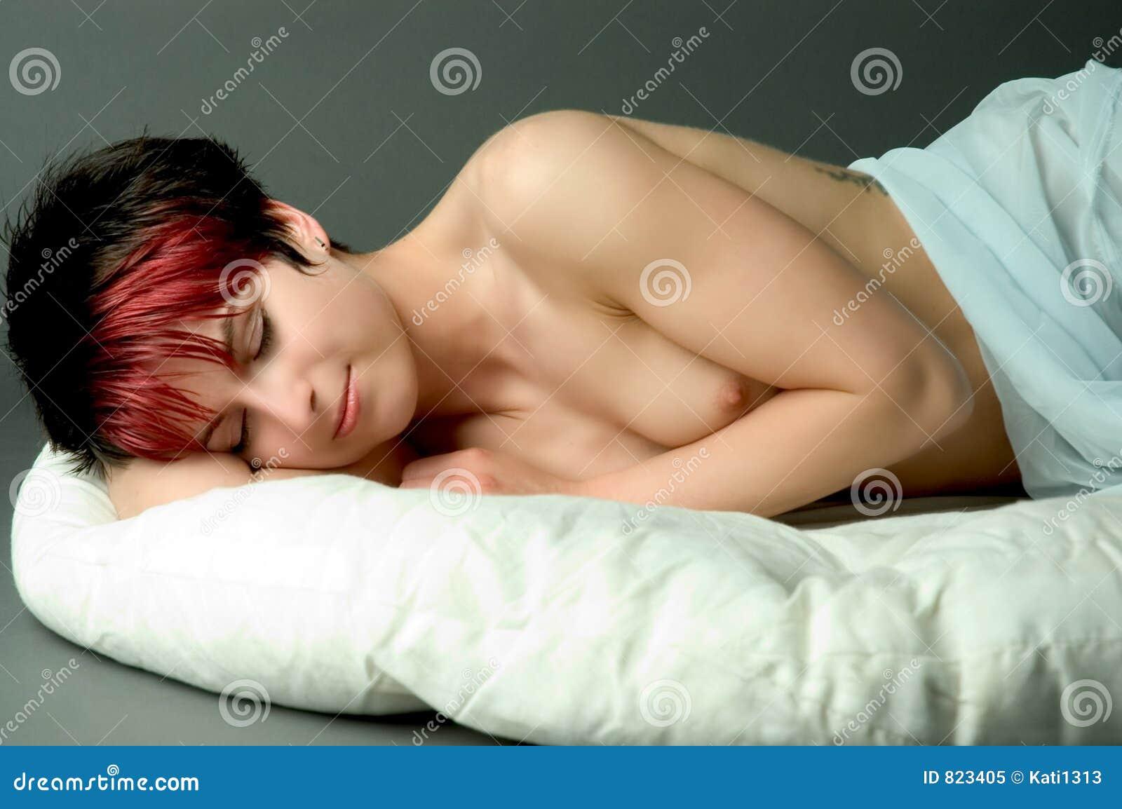 Asleep Pretty Russian Woman Dropped 73