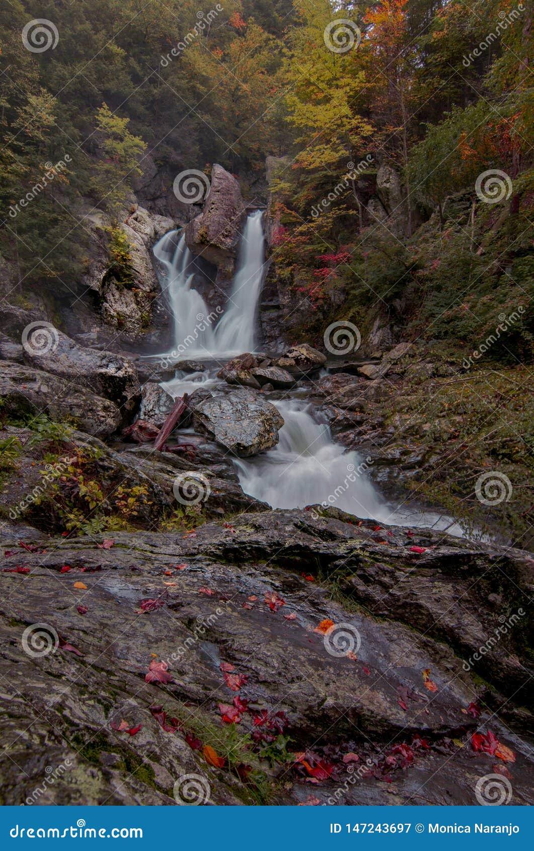 Fall in Bish-Nationalpark des heftigen Schlags - Porträt
