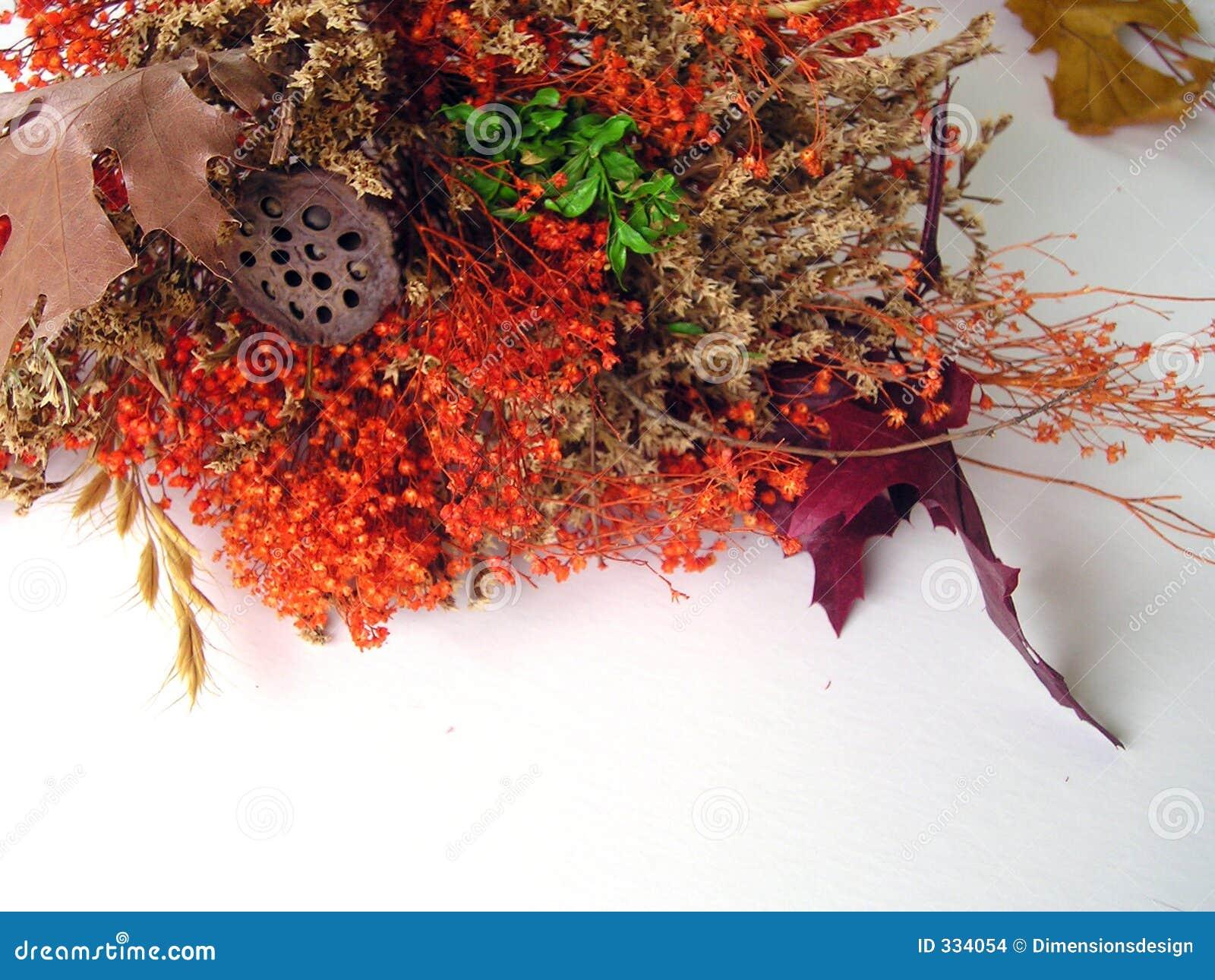 Fall bouquet spray