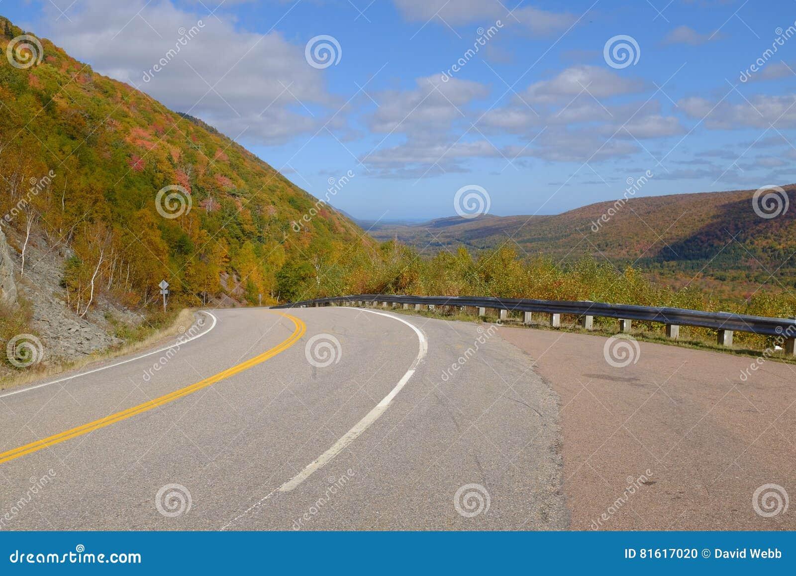Fall Colours on Cape Breton`s Cabot Trail
