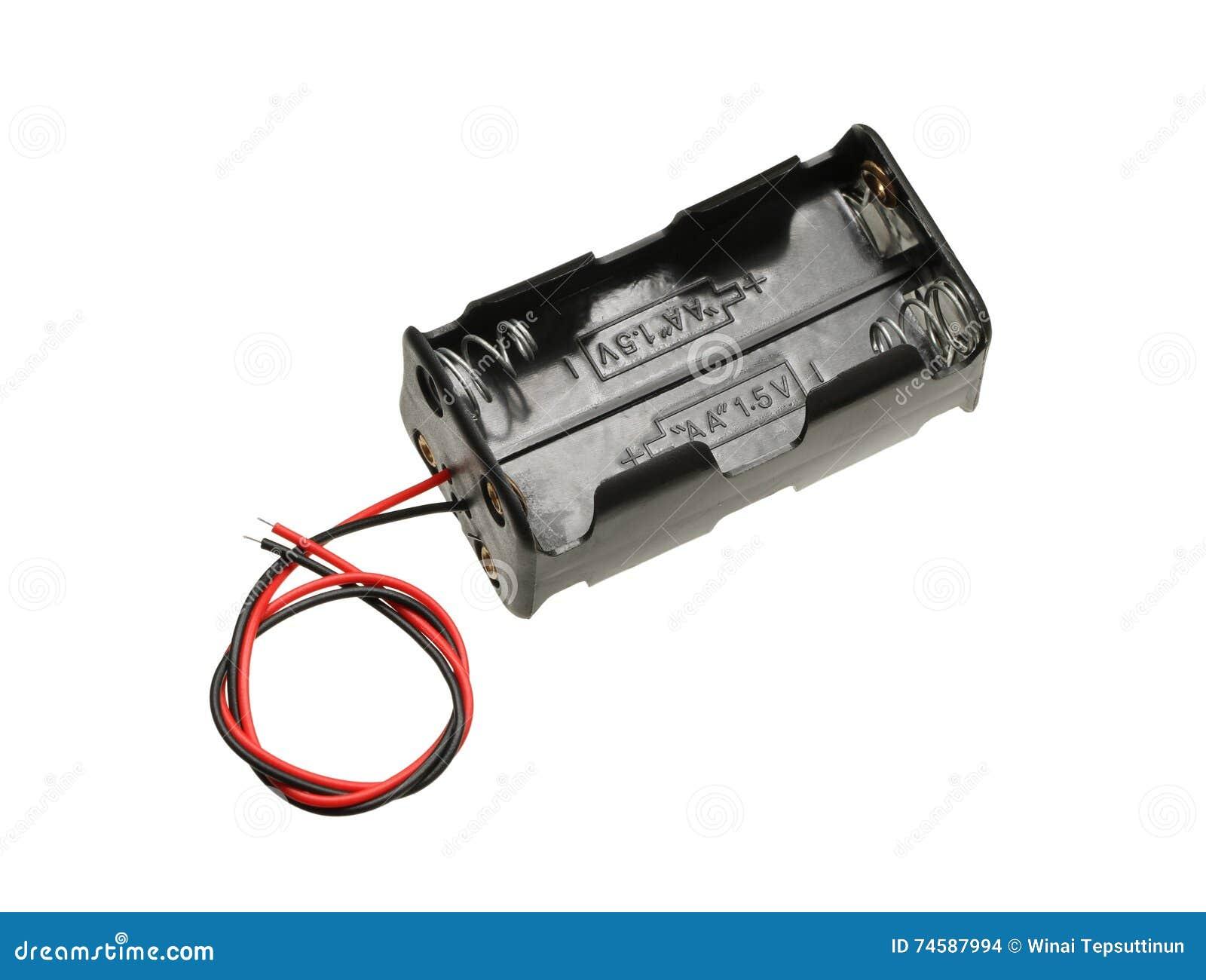 Fall för motorförbundetbatterihållare