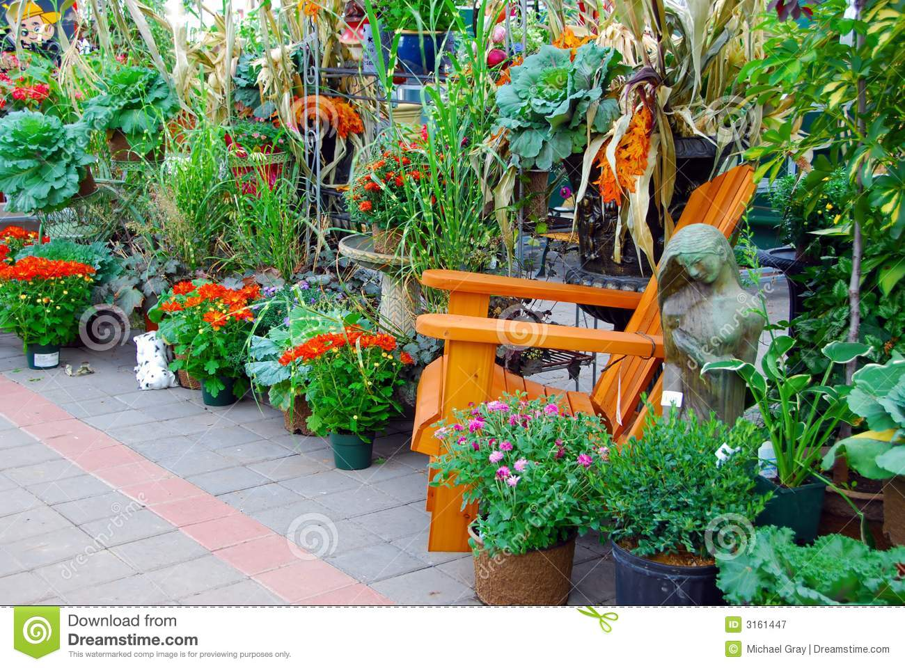 Fall Garden Display Royalty Free Stock Photography - Image: 3161447
