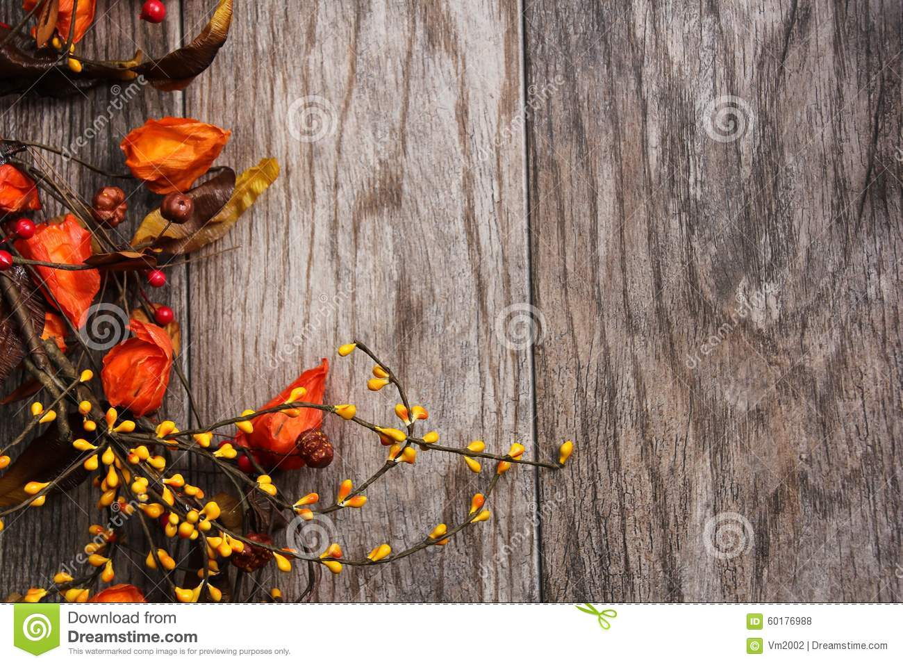 fall and halloween background stock photo