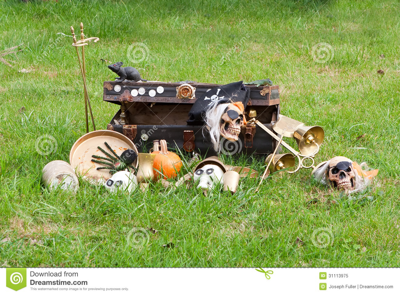 fall halloween holiday decorations at the farm royalty free stock