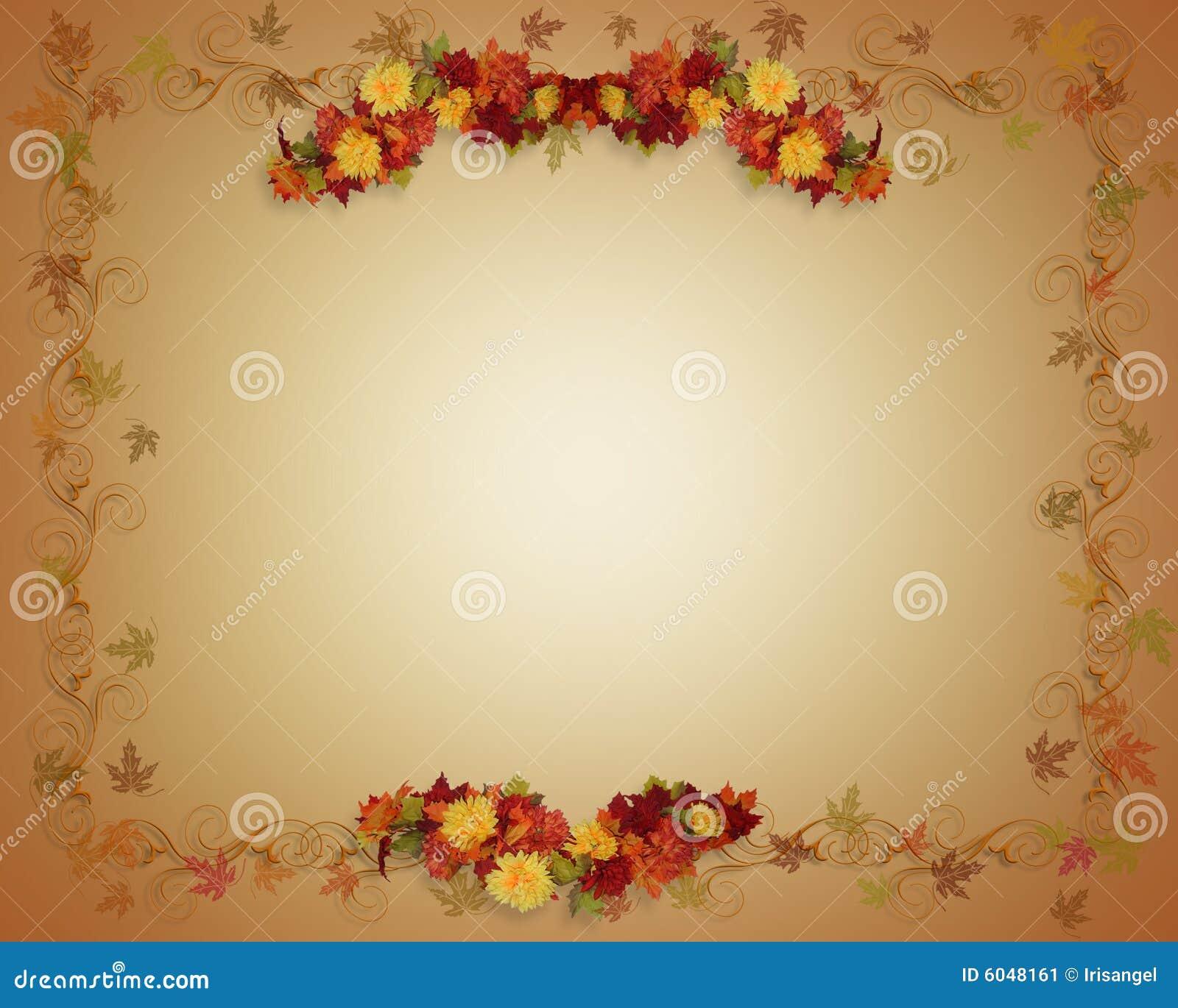 Fall Leaves Autumn Background Stock Image Image 6048161