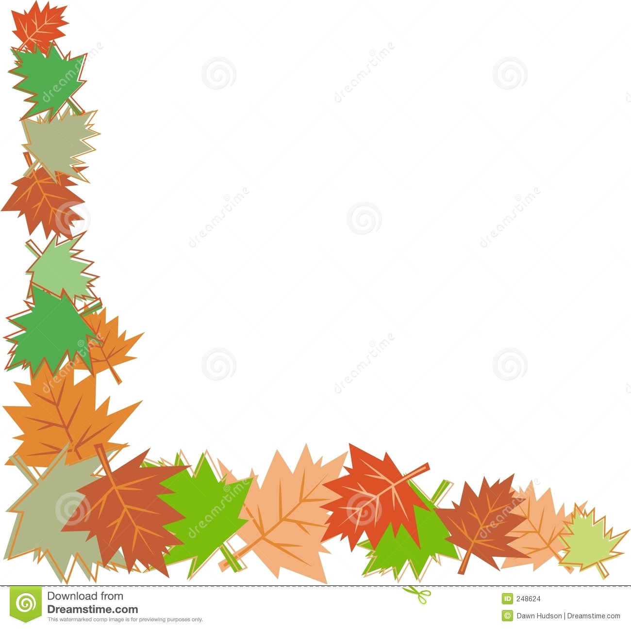 Fall Leaves Page Border http://www.dreamstime.com/stock-images-fall-leaves-border-image248624
