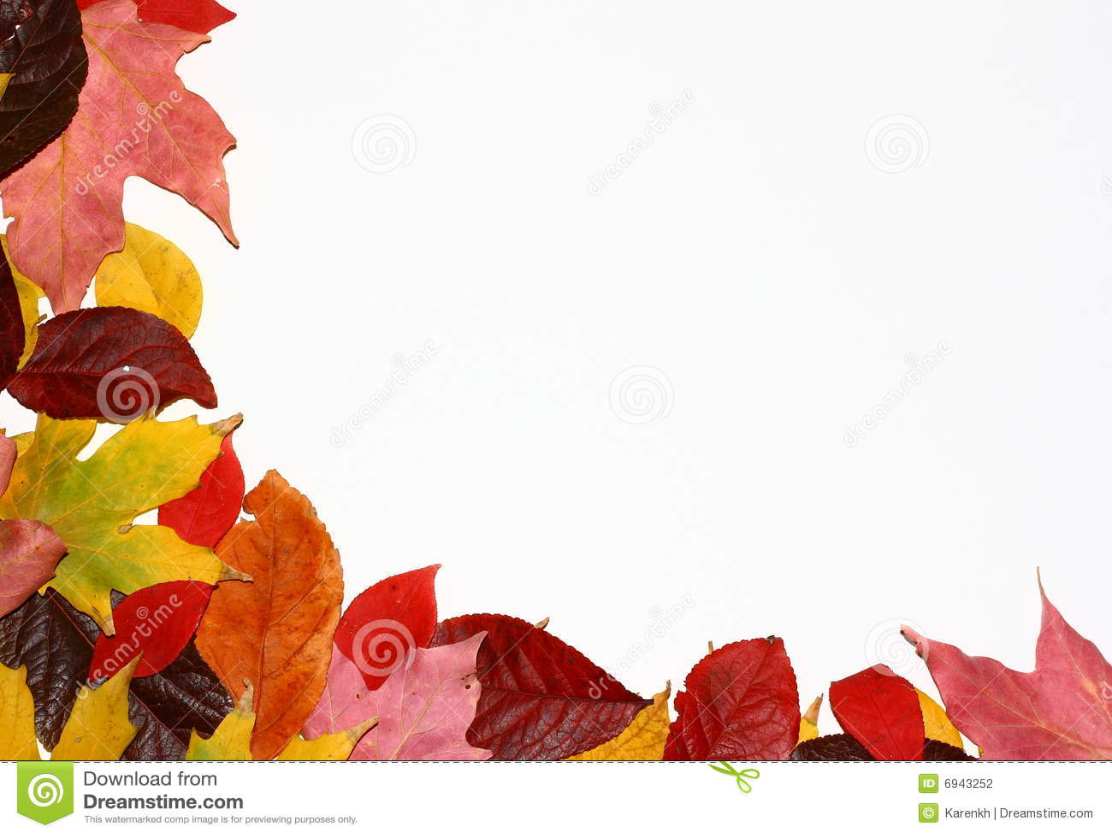 Fall Leaves Corner