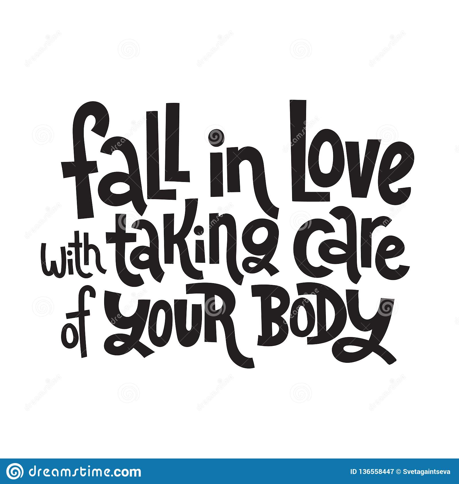 Body Positive Quotes Stock Vector Illustration Of Attractive