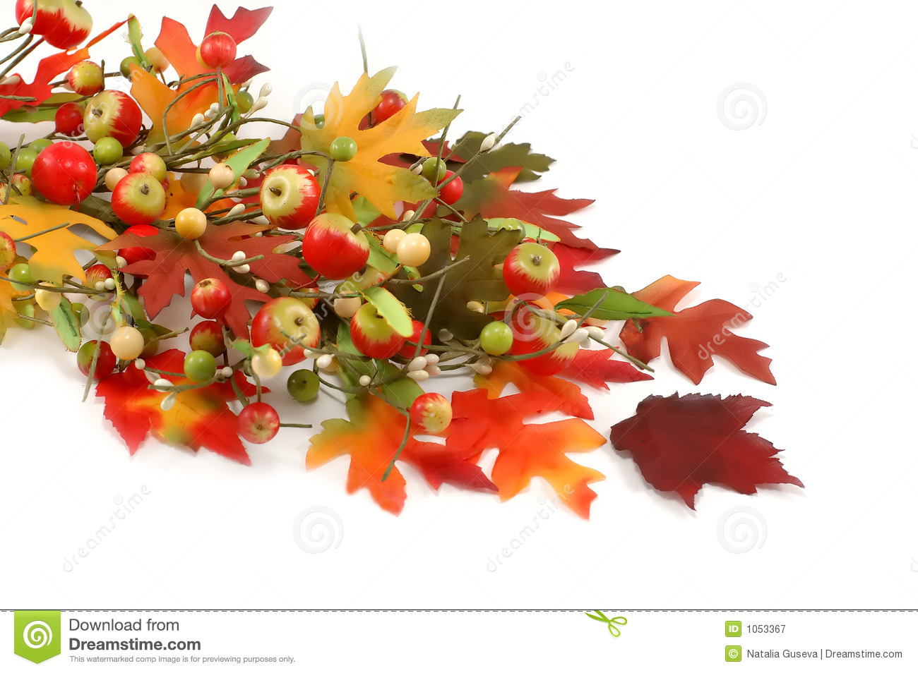 Fall leafs and apples decoration thanksgiving royalty for Apples decoration