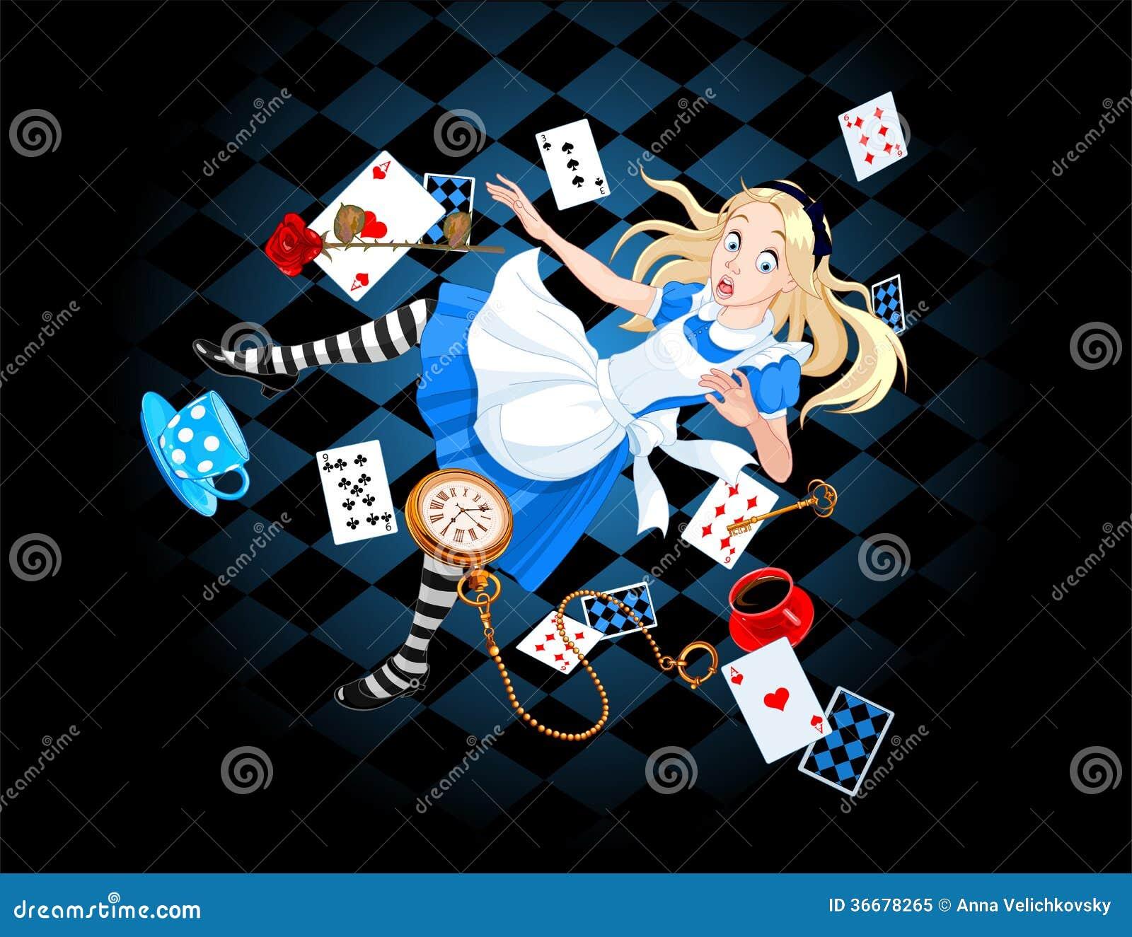 Fallande Alice
