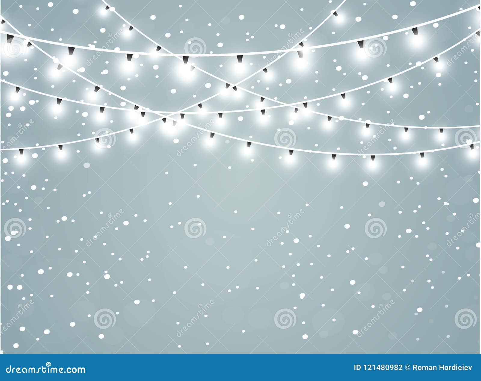 Fallande snö på en genomskinlig gnistrandebakgrund Abstrakt snowflakebakgrund också vektor för coreldrawillustration