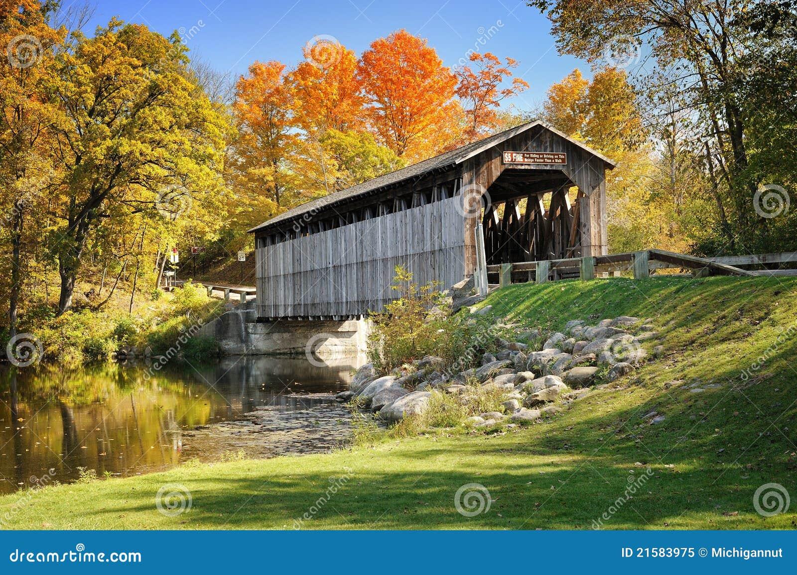 Fallasburg Covered Bridge Lowell Mi,USA