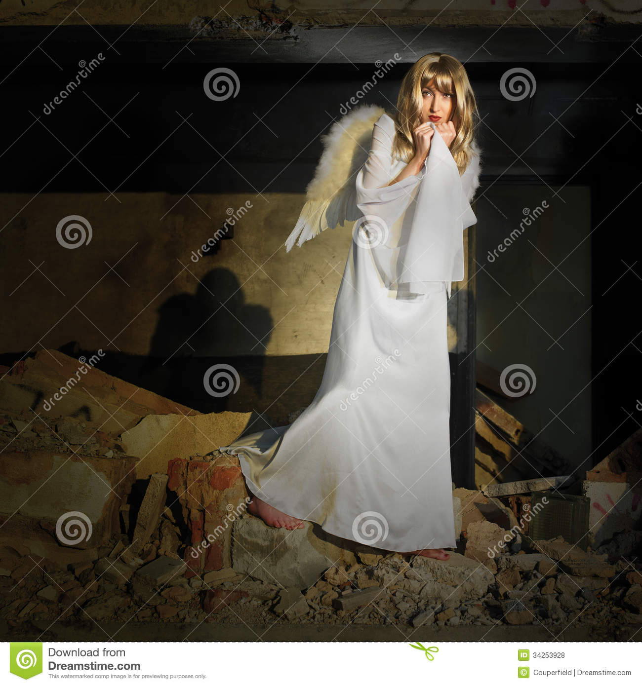 Fallen Angel Royalty Free Stock Photos - Image: 34253928