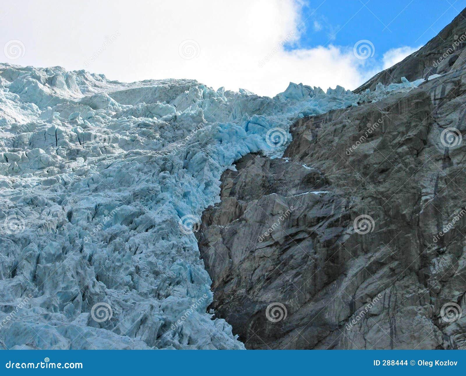 Fallendes Eis