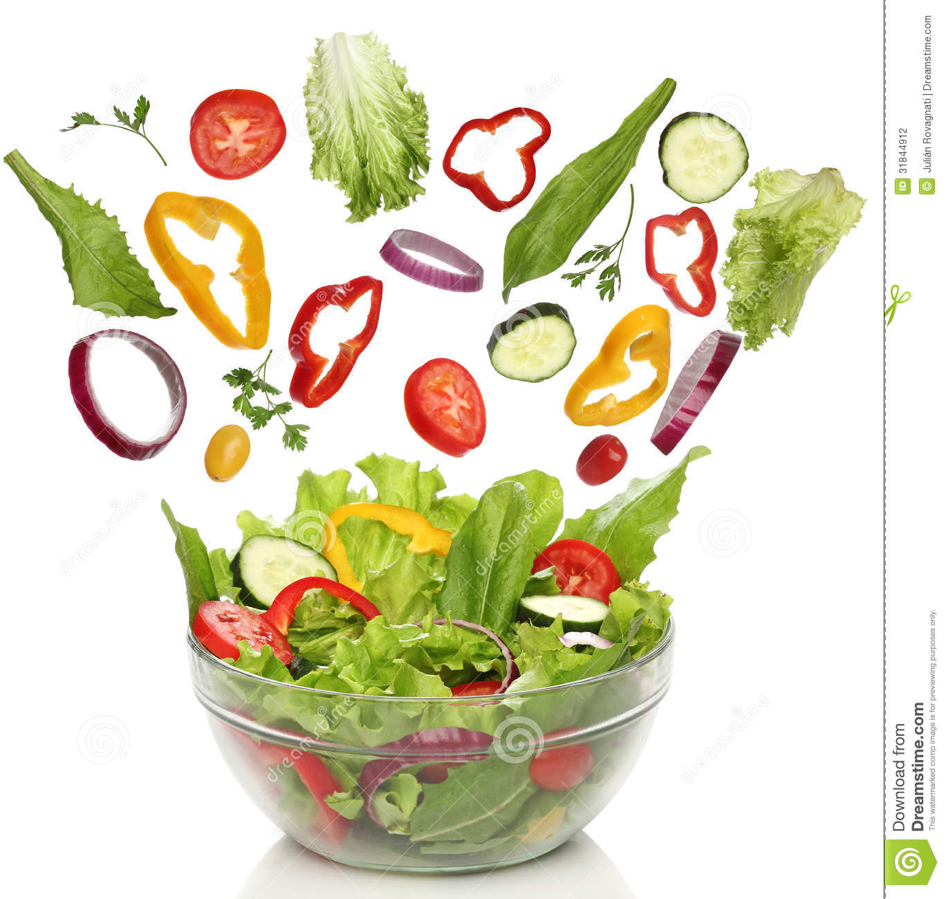 Falling Fresh Vegetables Stock Photography - Image: 31844912