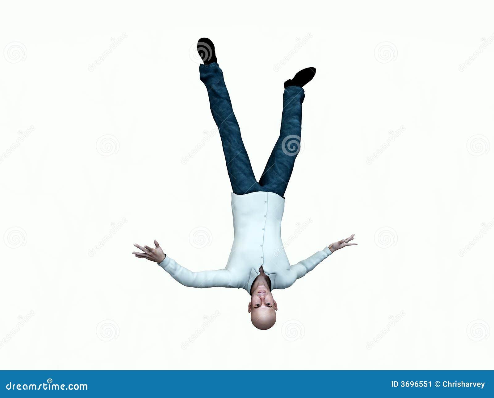 Falling Man 12 stock image. Image of male, pose, falling ...