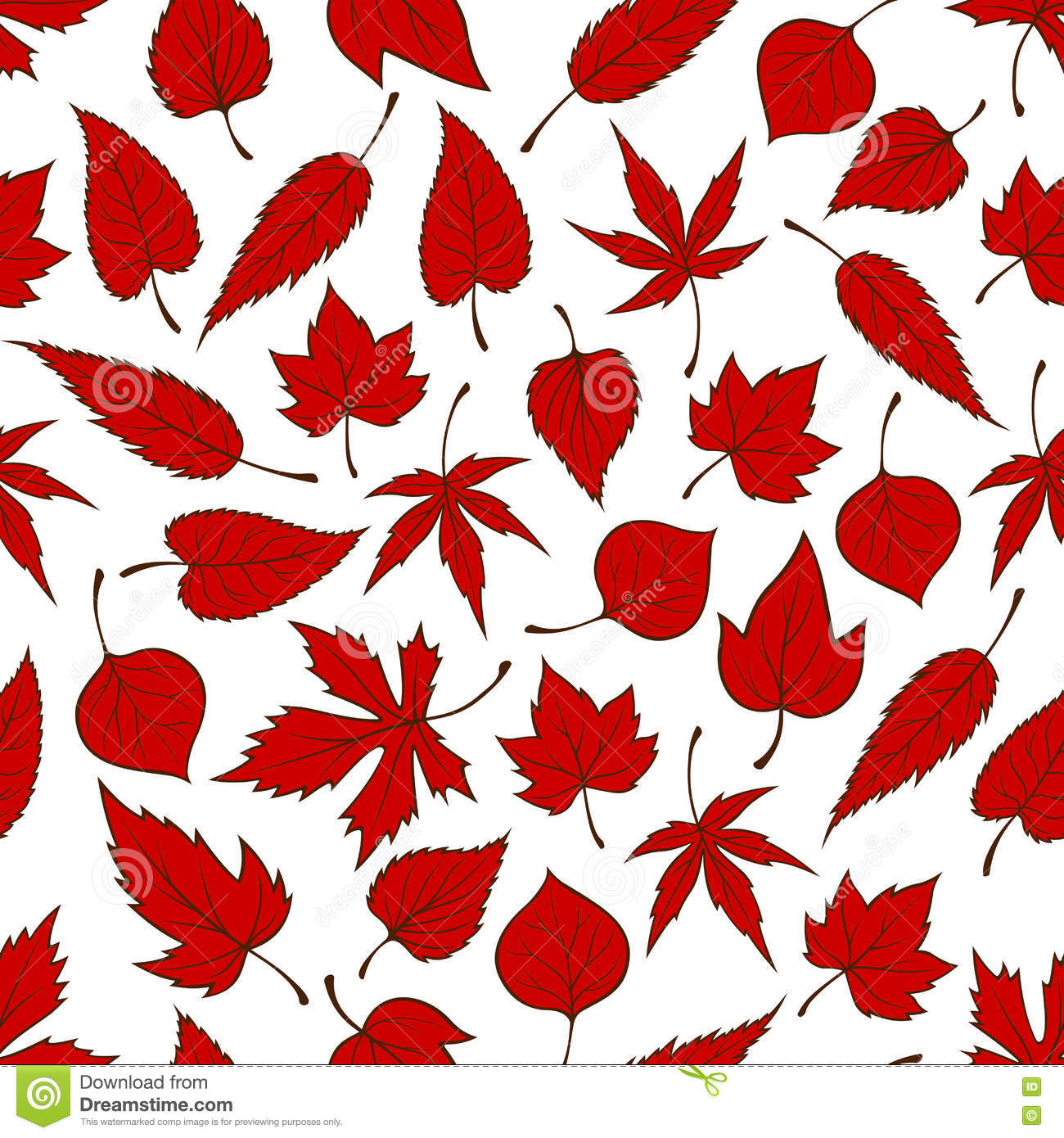 red leaves wallpaper pattern - photo #4