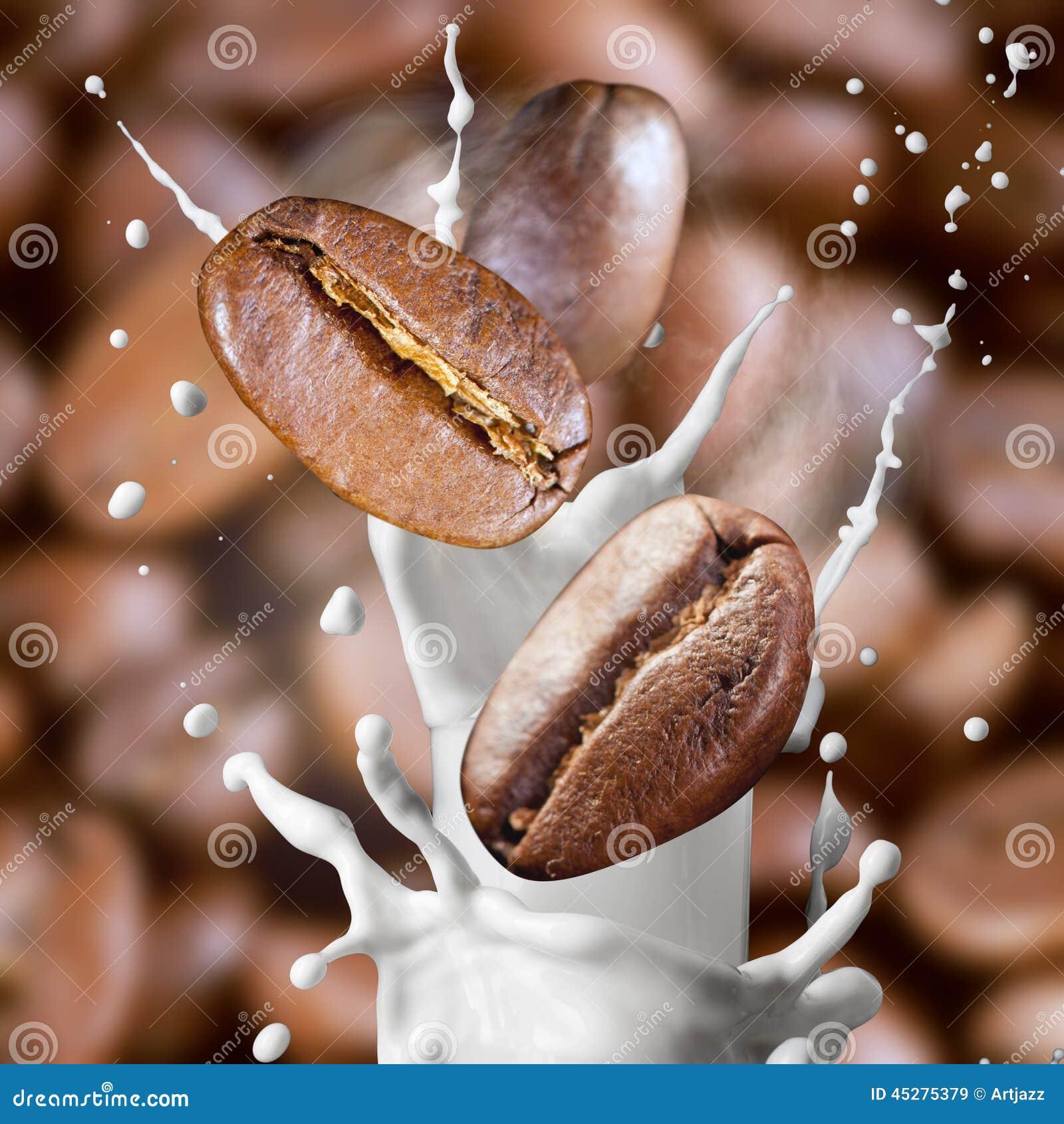 coffee splash milk macro-#25