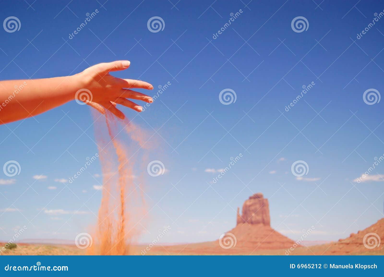 Falling Sand Stock Photography - Image: 6965212