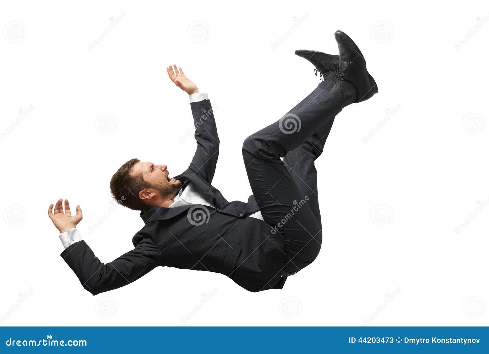 falling backwards pose