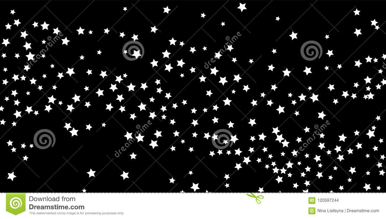 A falling star background.