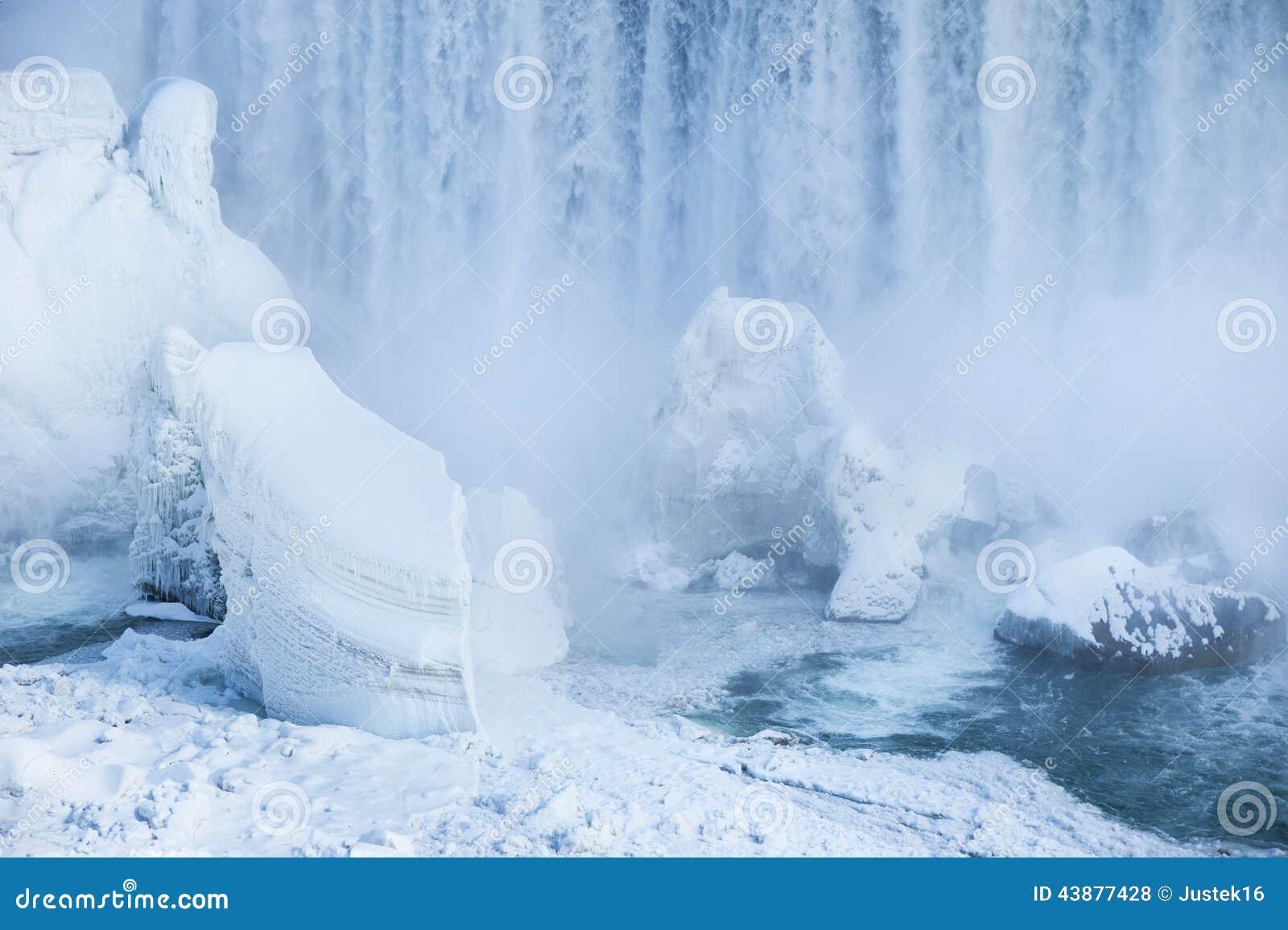 Fallsniagara vinter