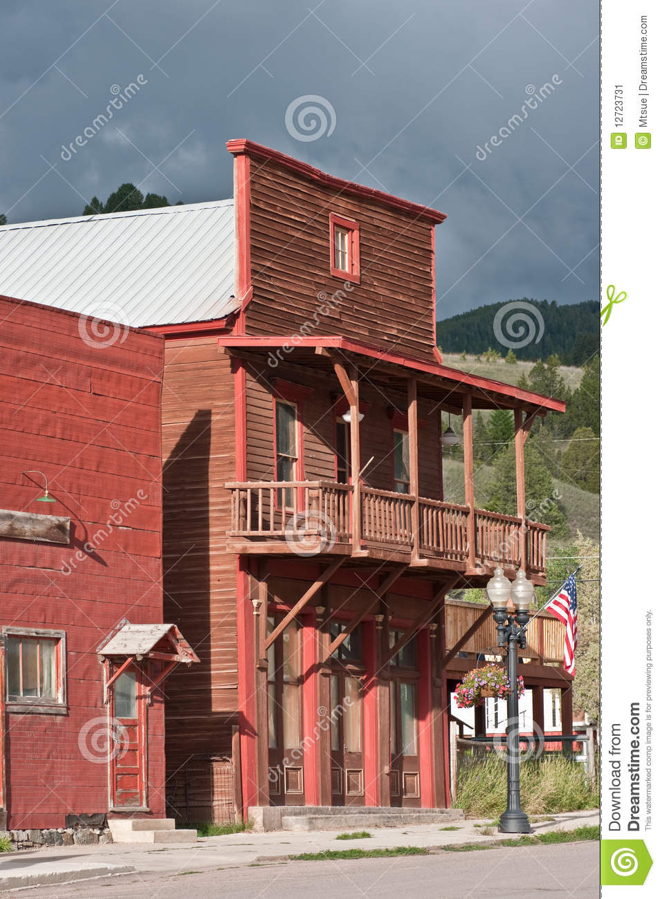 Old West False Front Buildings http://www.dreamstime.com/stock-image-false-fronted-building-image12723731