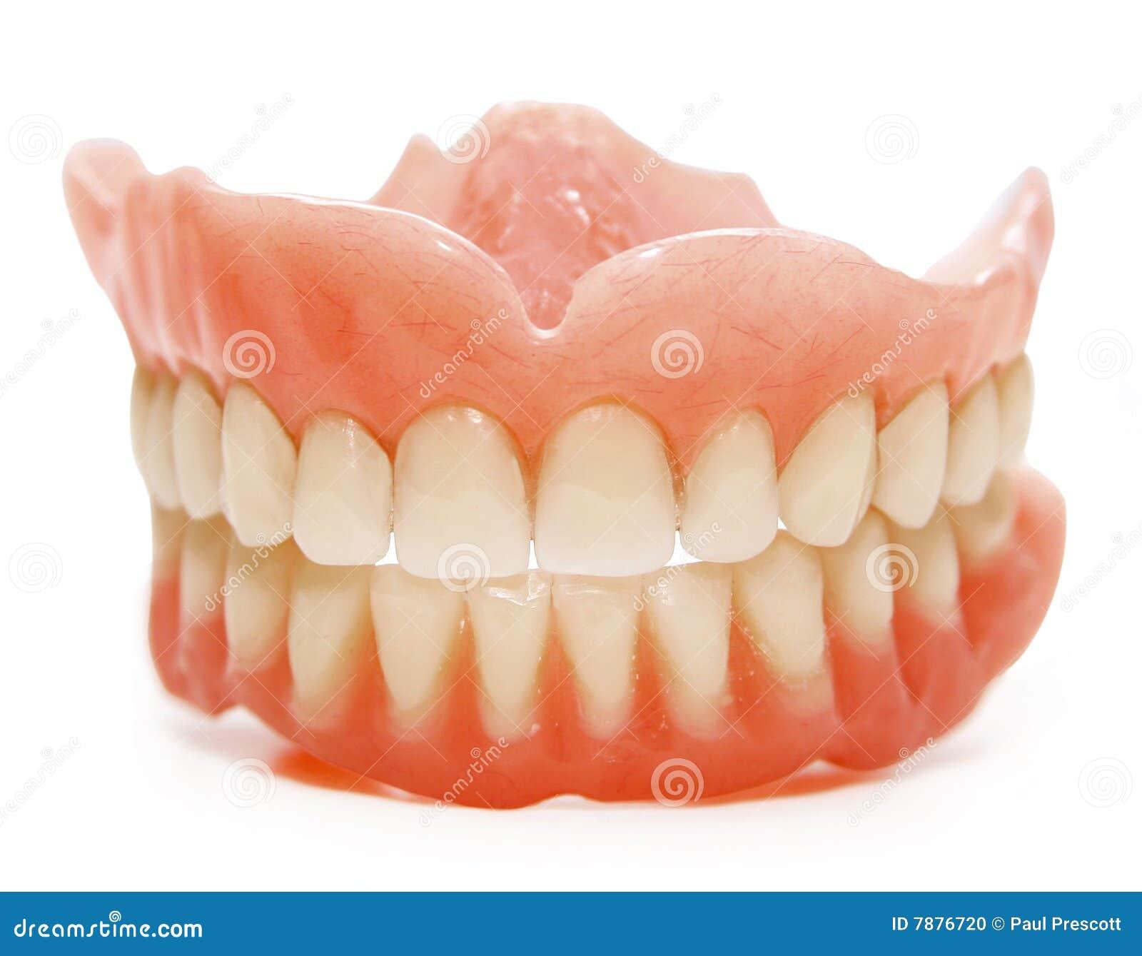 False teeth Teeth