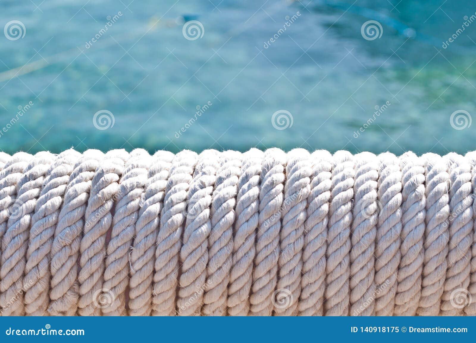 Falta de definici?n en Filipinas una cuerda en barco accesorio del yate como extracto del fondo