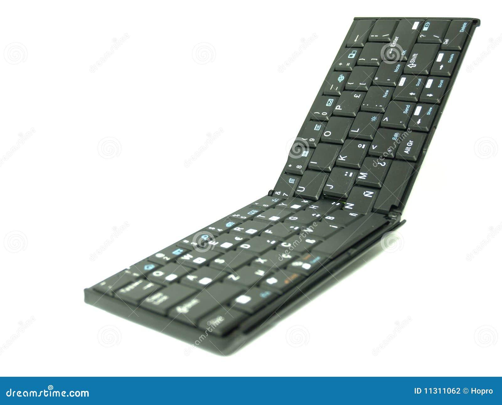 Faltende Tastatur 02