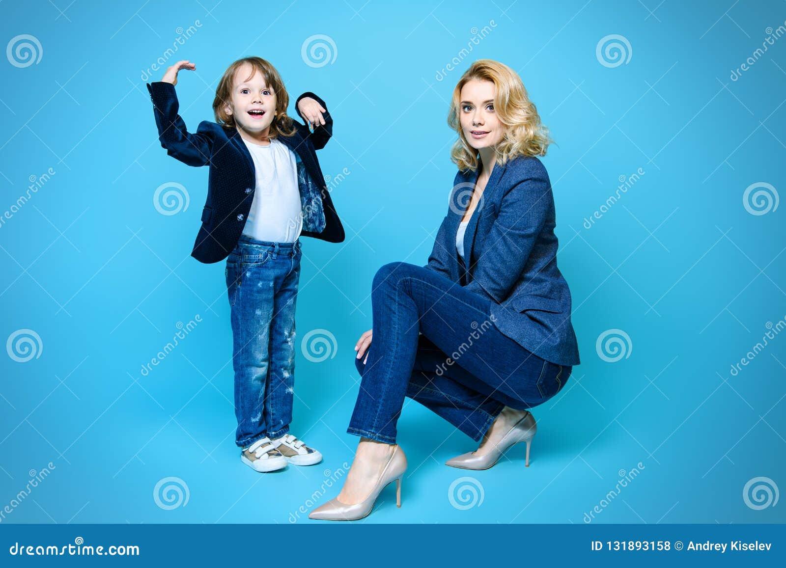 Família à moda junto