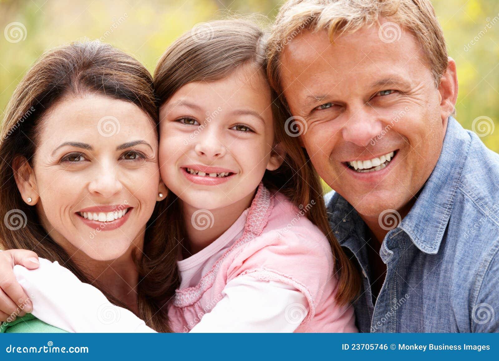 Família ao ar livre