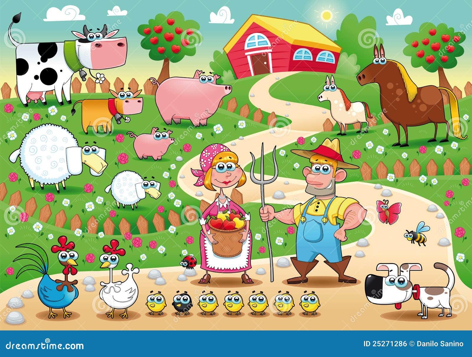 Família da exploração agrícola.