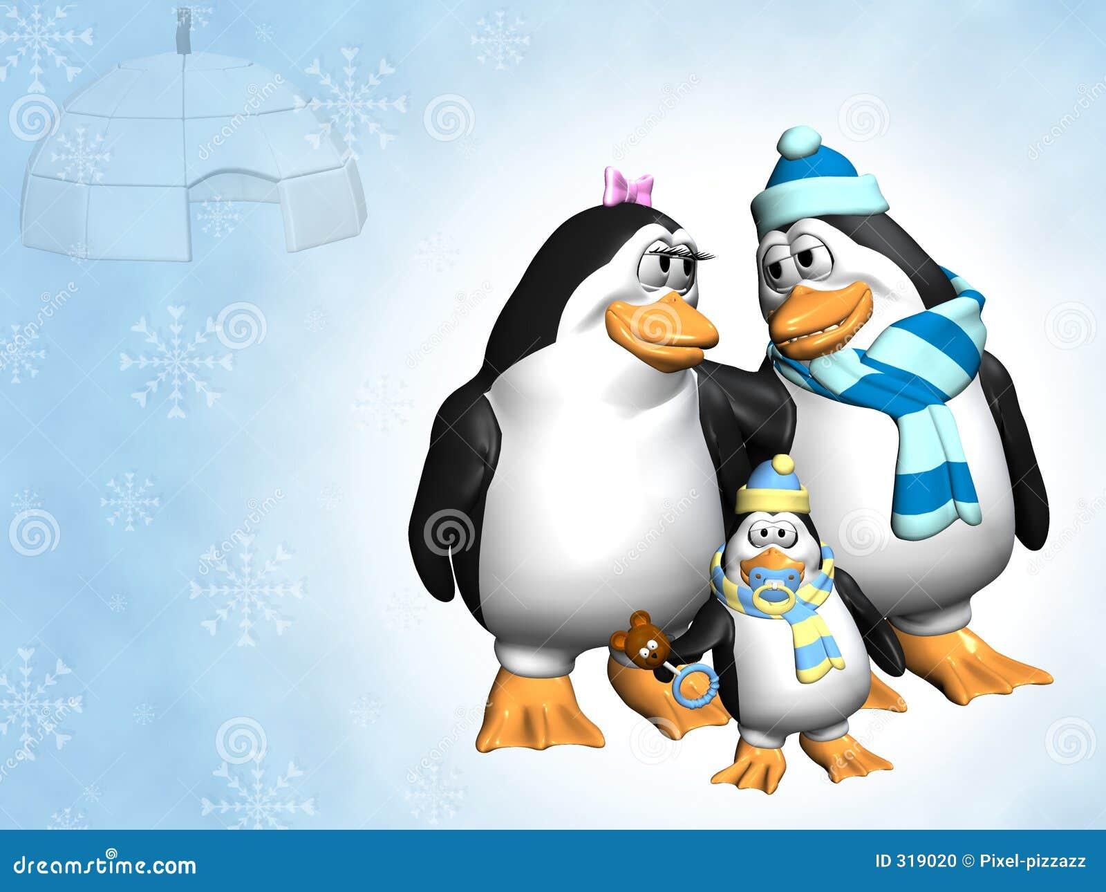 Família do pinguim