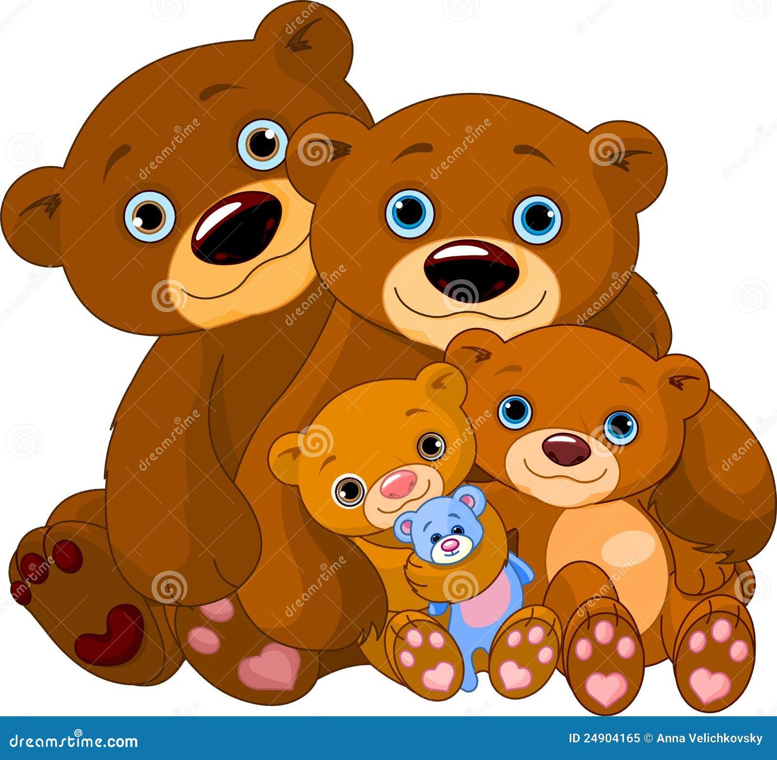 Família do urso
