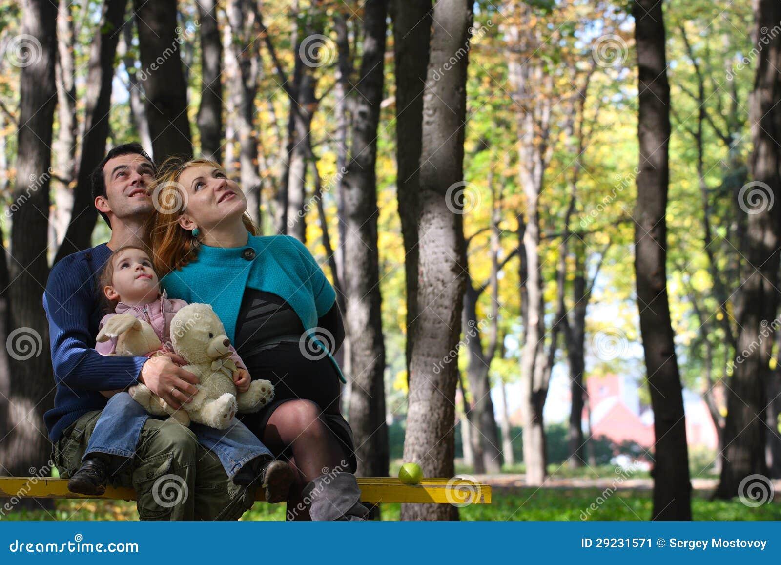 Download Família no parque imagem de stock. Imagem de macho, parque - 29231571