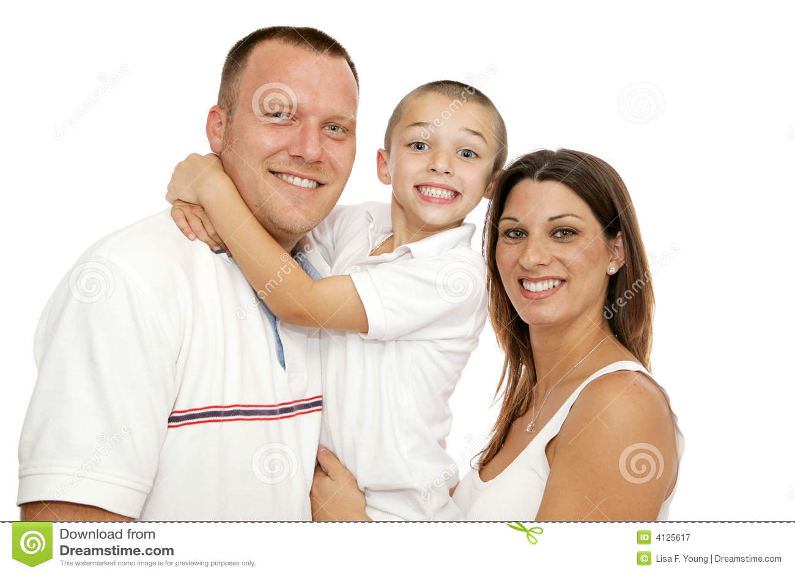 Família nova bonita