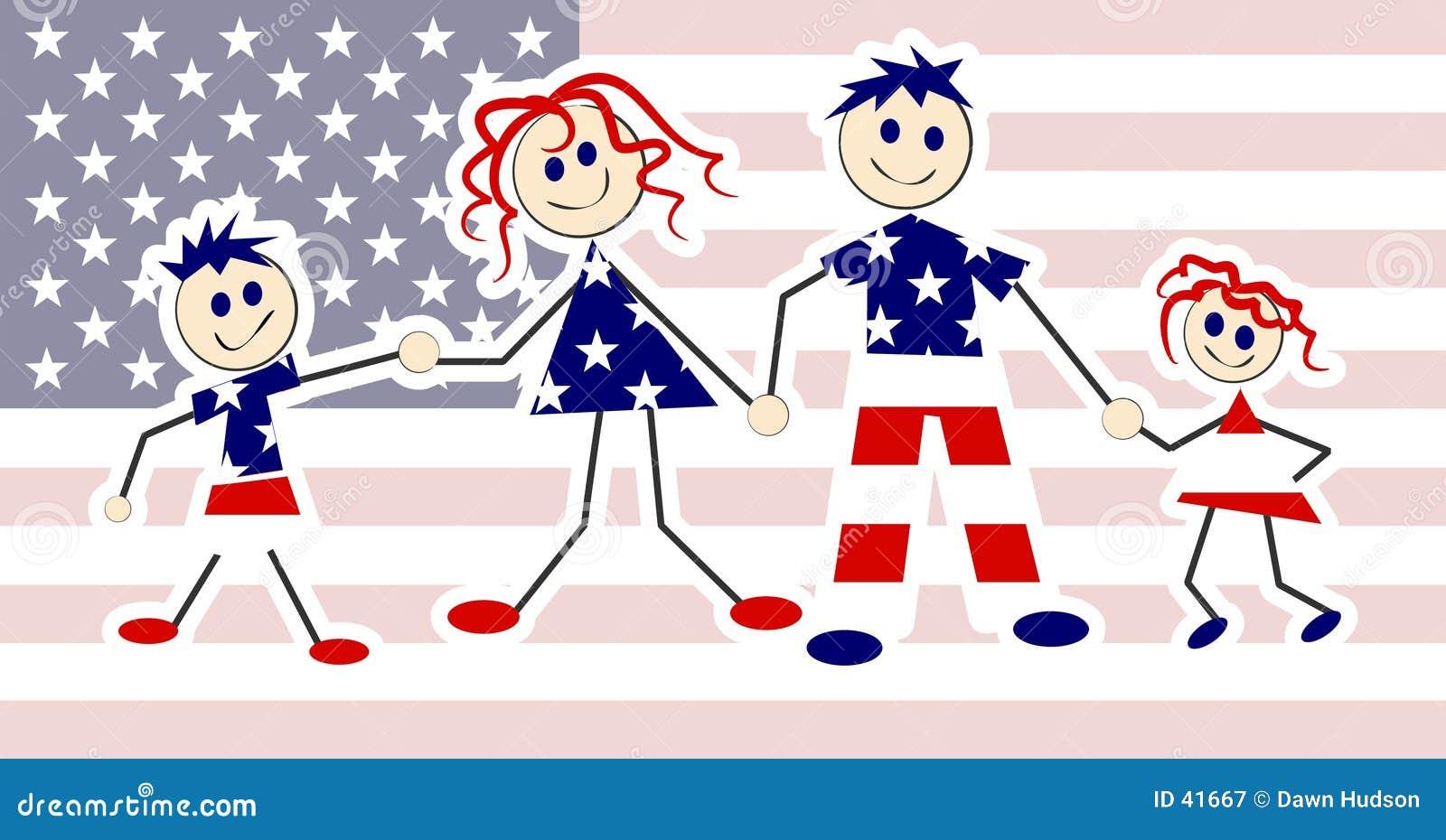 Família patriótica