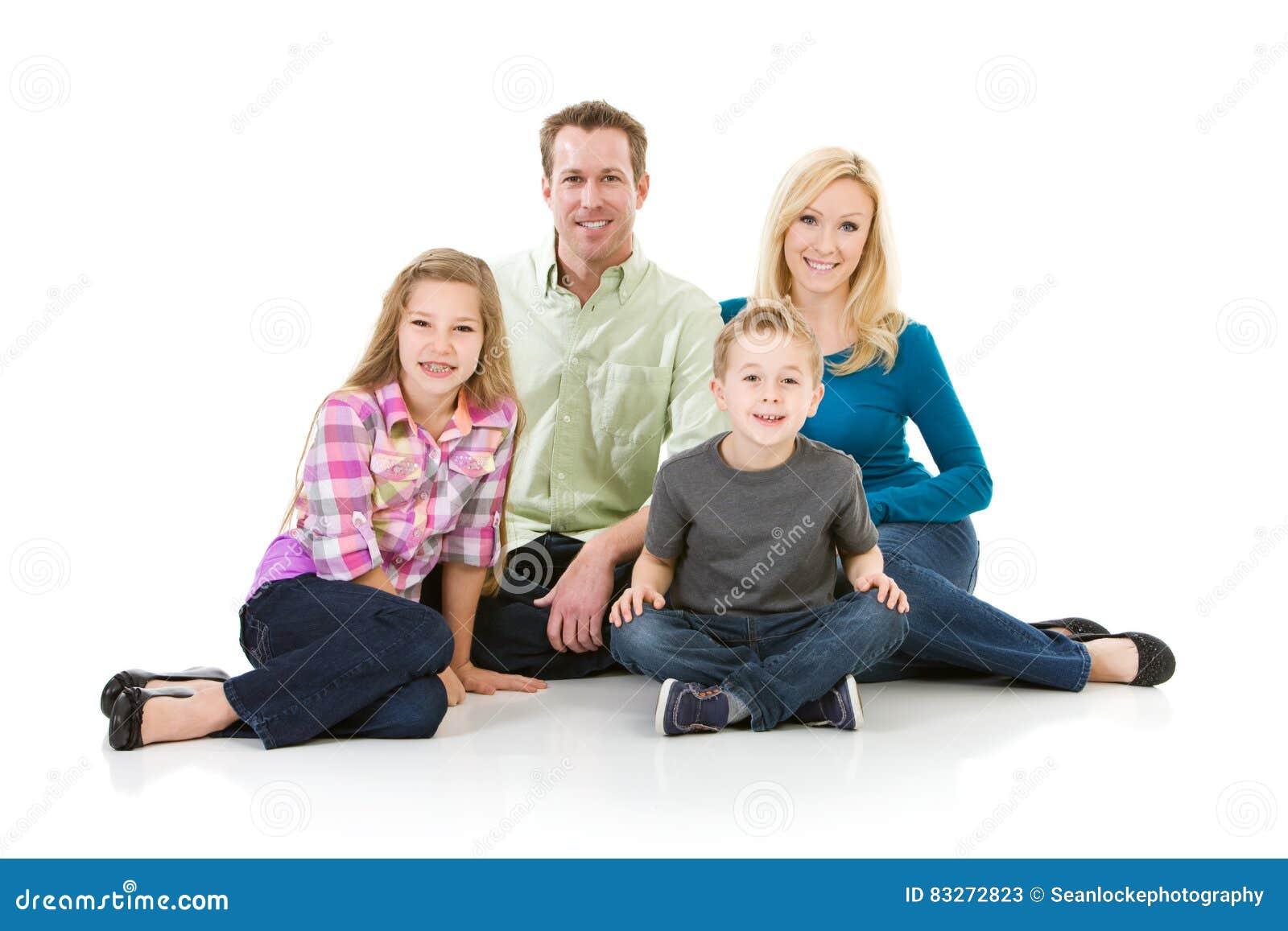 Família: Retrato tradicional da família