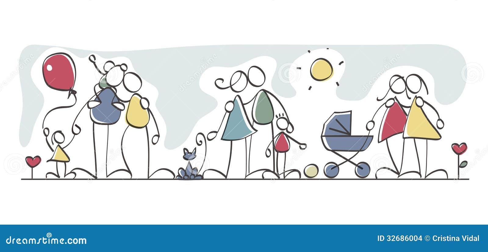 Famílias engraçadas