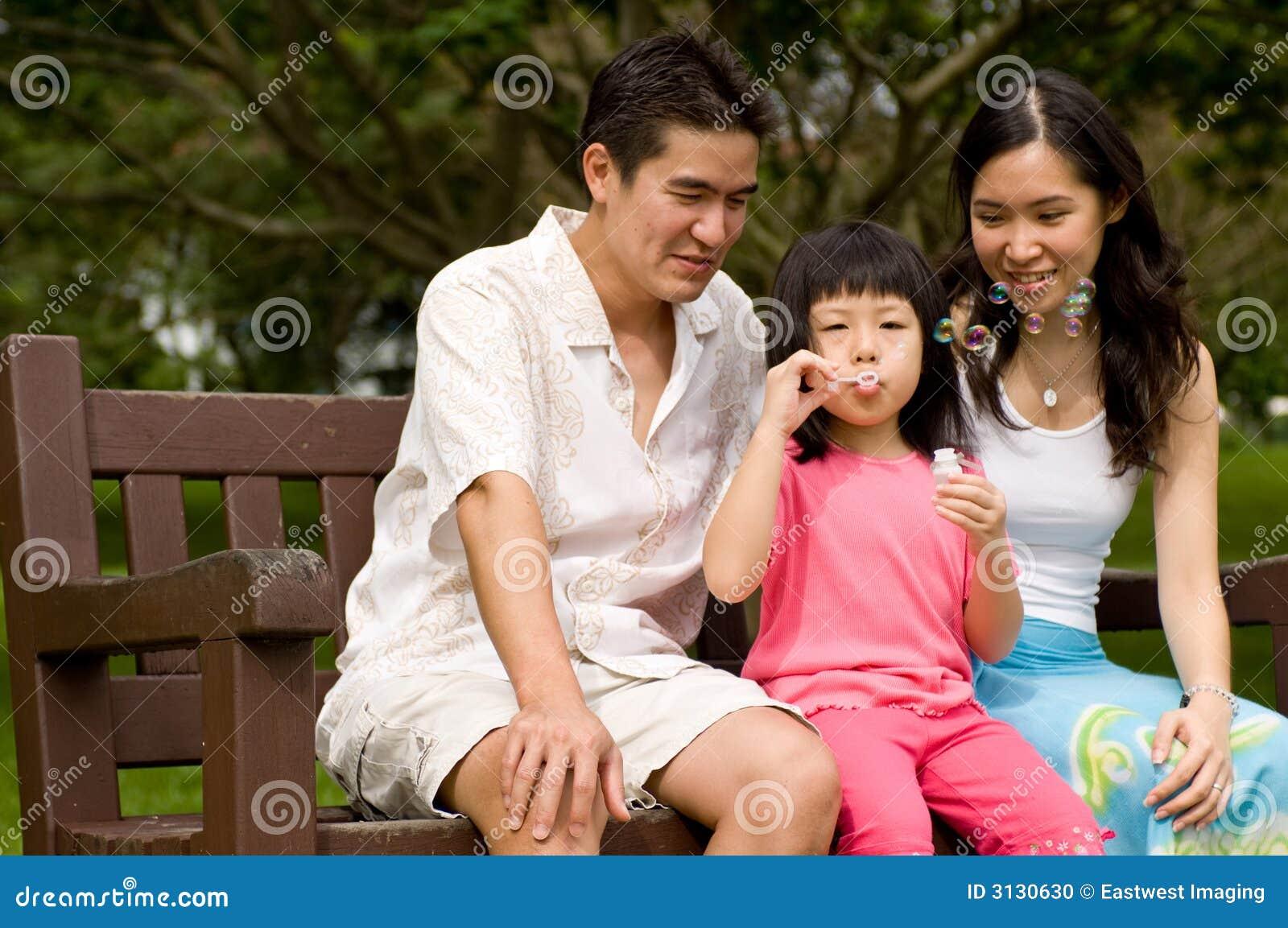 Famiglia all aperto