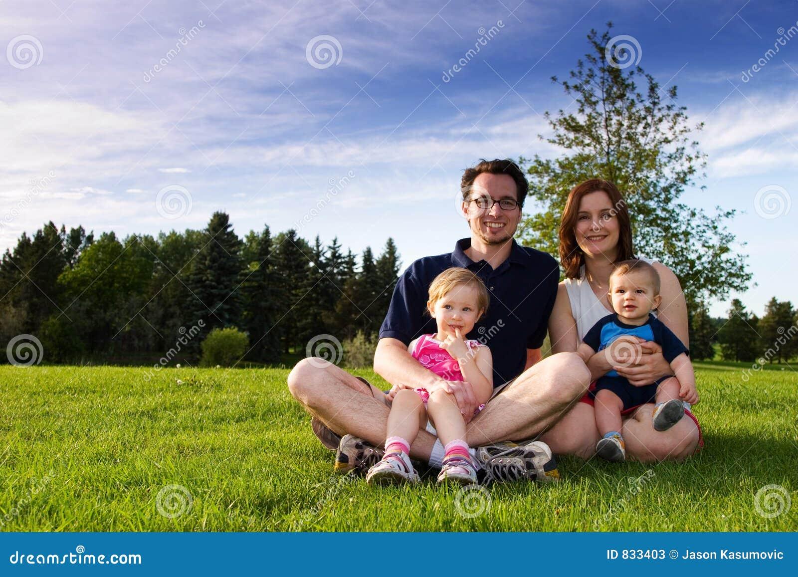 Famiglia alla sosta