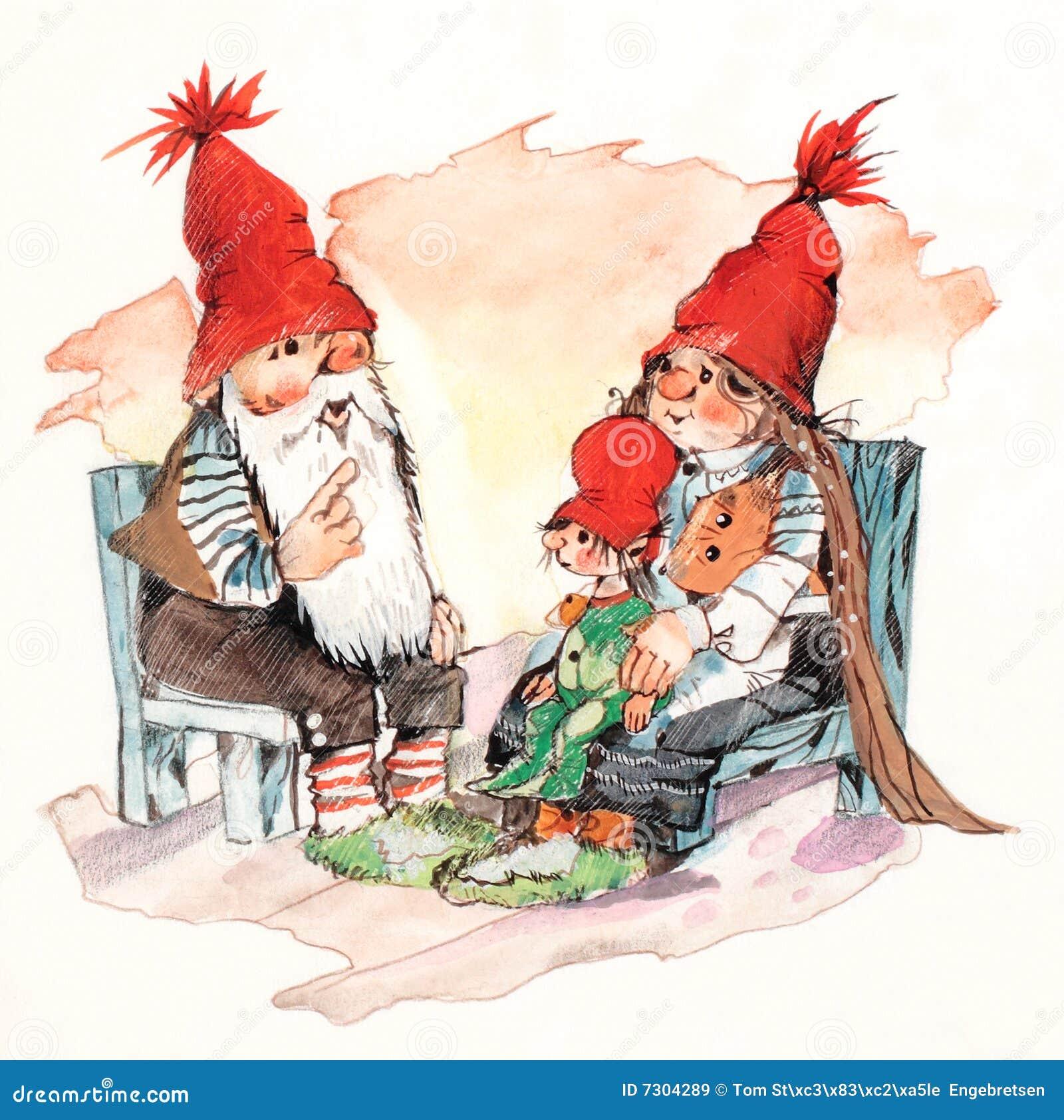 Famiglia del Babbo Natale